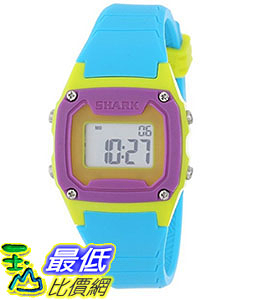 [106美國直購] Freestyle 手錶 Unisex 102274 B00DPE1Y8U Shark Blue/Neon Yellow/Purple Watch