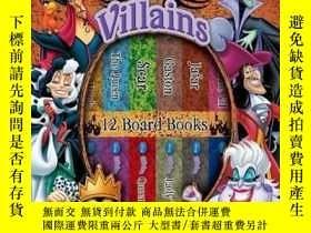 二手書博民逛書店My罕見First Library Disney Villain