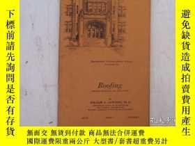 二手書博民逛書店民國:Roofing【USA】罕見房屋工程建造系列Y23766