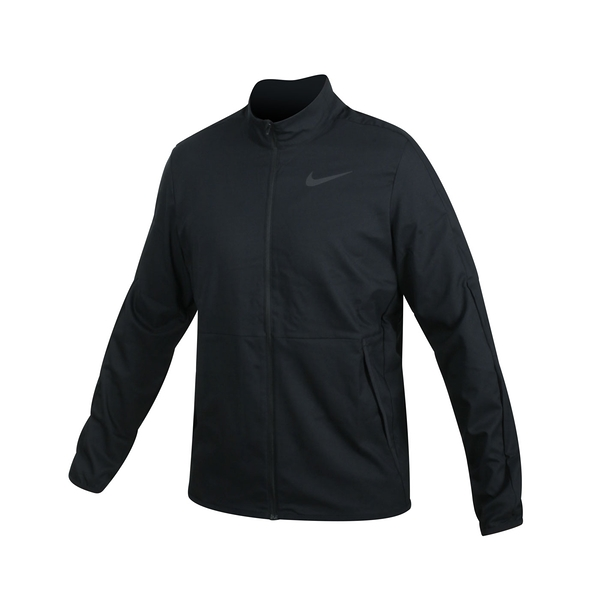 NIKE 男吸濕排汗訓練外套(免運 Dri-FIT 梭織 立領外套 慢跑 路跑≡體院≡ CU4954-010