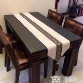 桌巾 定制歐式美式桌旗簡約新中式奢華現代餐墊裝飾布藝桌巾茶幾旗桌墊桌旗 童趣屋