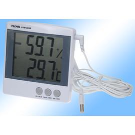 泰菱電子◆室內外二用大型顯示溫濕度計溫溼度計DTM-303B TECPEL