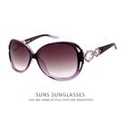 經典漸層紫框墨鏡 簍空造型太陽眼鏡 時尚優雅太陽眼鏡 顯小臉墨鏡 UV400標準局檢驗合格