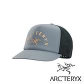 【Arc'teryx 始祖鳥】LOGO棒球網帽『深銀翼灰』L07548900 休閒.露營.抗UV帽.登山帽.吸濕排汗帽