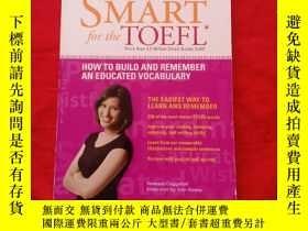 二手書博民逛書店Word罕見Smart for the TOEFL:how to build and remember an ed