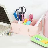 DIY木質小物文具筆筒 抽屜收納盒 桌面收納 小物收納 分類收納【SV9183】 快樂生活網
