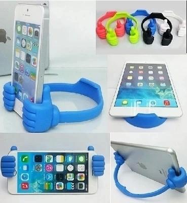 King*Shop~潮人可愛手機支架米奇小手掌 蘋果三星小米華為魅藍手套支架