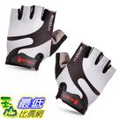 [106美國直購] 手套 BOODUN Cycling Gloves with Shock-absorbing Foam Pad Breathable Half Finger Grey