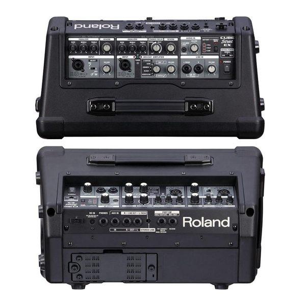 【非凡樂器】Roland樂蘭 CUBE Street EX 電池供電立體聲擴大音箱 / 送導線 公司貨