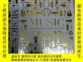 二手書博民逛書店Music:罕見The Definitive Visual Hi