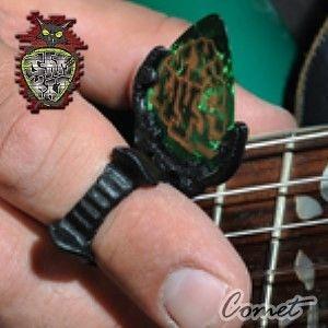 Pick彈片►Pick彈片系列美國製造Jamkat(專利)Pick & 指法切換器【彈吉他不再考慮要用Pick或手指】