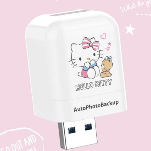 PhotoFast Hello Kitty 備份讀卡機