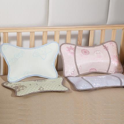 嬰兒床枕頭 寶寶新生兒吸汗幼兒園透氣兒童夏季天涼枕0-1-3-6歲