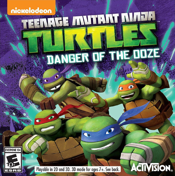 3DS Teenage Mutant Ninja Turtles: Danger of the OOZE 忍者龜:危險陷阱(美版代購)