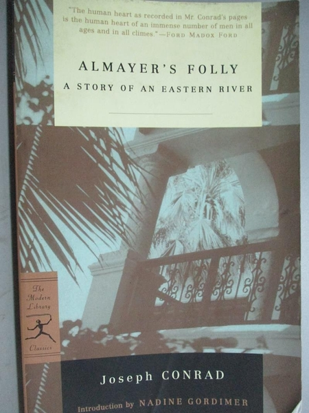 【書寶二手書T4/原文小說_KJR】Almayer s Folly: A Story of an Eastern Riv