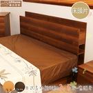 【UHO】日式收納3.5尺單人床頭片/胡桃、原木色/專人專業運送~免運費