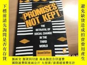 二手書博民逛書店promises罕見not kept 1993年版本 英語 原版