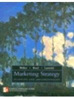 二手書博民逛書店《Marketing Strategy:Planning And