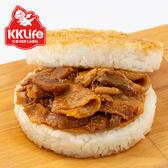 【KK Life-紅龍】壽喜牛丼米漢堡 (170g/顆; 3顆/袋)