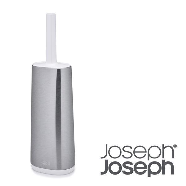 【Joseph Joseph】不鏽鋼好柔軟D型馬桶刷架