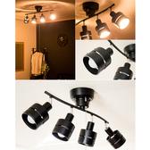 [LEDA LT]鋼鐵版消光鐵桿吸頂燈(拉繩款)~TML愛媛家居黑色桿x黑色燈罩