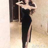 晚禮服 性感夜店女裝性感抹胸連身裙夜場氣質修身顯瘦包臀裙 【新年熱歡】