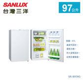 【佳麗寶】-留言加碼折扣《台灣三洋 / SANLUX 》單門冰箱-97L【SR-B97A5】