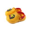 Disney 迪士尼 小熊維尼 涼鞋 花園鞋 電燈鞋 中童 童鞋 黃色 D520416 no033