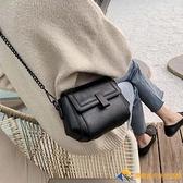 高級感小包包女單肩斜挎包時尚百搭秋冬女士鏈條包【勇敢者戶外】