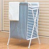 折疊臟衣簍大號防水洗衣框玩具衣服收納筐