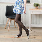 30D大尺碼加大透膚絲襪(黑色)...