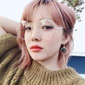 不對稱耳環圈圈耳墜女長款氣質韓國吊墜復古簡約百搭耳釘個性耳圈