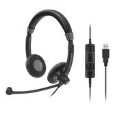 Sennheiser 聲海 SC 75 USB CTRL 雙耳耳麥