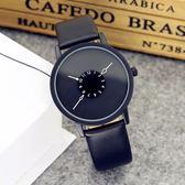 韓版時尚簡約潮流原宿男女中學生創意手錶男個性概念情侶手錶一對  小時光生活館