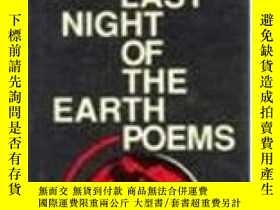 二手書博民逛書店The罕見Last Night Of The Earth PoemsY364682 Bukowski C Ec