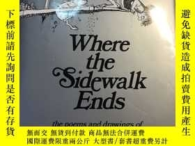 二手書博民逛書店Where罕見the Sidewalk Ends:The Poe