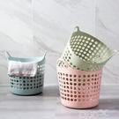 洗衣籃 鏤空大號髒衣籃浴室洗衣籃 客廳玩具衣物收納籃髒塑膠衣服收納筐 百分百