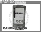 USAINK~CANON PG-830/...