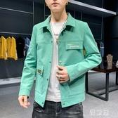 男士外套 2020年新款春夏季上衣服潮流韓版百搭牛仔夾克褂子 BT21635『優童屋』