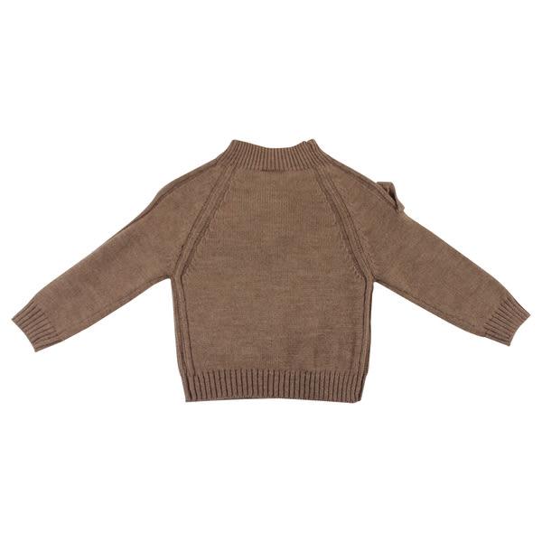 【愛的世界】半高領混羊毛毛衣/2~3歲-台灣製- ★秋冬上著