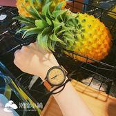 手錶 男女情侶木制紋學生韓版個性街頭日系手表復古石英表 潮流小鋪