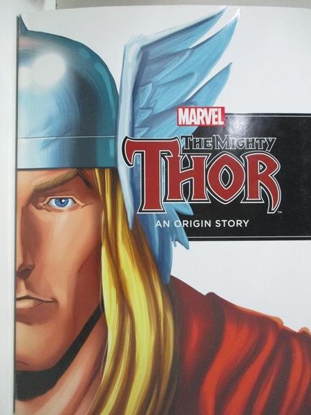 【書寶二手書T9/原文小說_D5N】The Mighty Thor: An Origin Story_Thomas, Rich (ADP)/ Clark, Jeff (ADP)