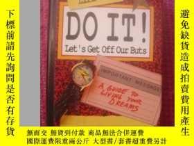 二手書博民逛書店(英文原版)DO罕見IT! : Let ′s get off o