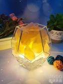 喜馬拉雅燈 喜馬拉雅水晶鹽燈創意北歐臥室床頭燈溫馨香薰臺燈浪漫裝飾小夜燈 快速出貨