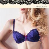 Chasney Beauty-夏奇拉B-D蕾絲內衣(藍紫)