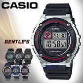 CASIO 卡西歐 手錶專賣店 W-216H-1C VDF 男錶 數字電子錶 樹脂錶帶 秒錶 全自動日曆