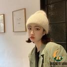 兔毛毛線帽子女秋冬百搭冷帽針織帽【創世紀生活館】