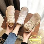 老爹鞋女新款韓版百搭智熏鞋子超火網紅厚底ins運動增高女鞋