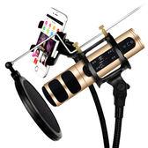 深野 D198 唱吧全民K歌手機麥克風話筒 蘋果唱歌神器錄音聲卡套裝