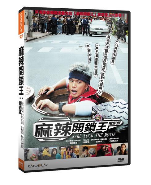 麻辣開鎖王 電影版 DVD (音樂影片購)